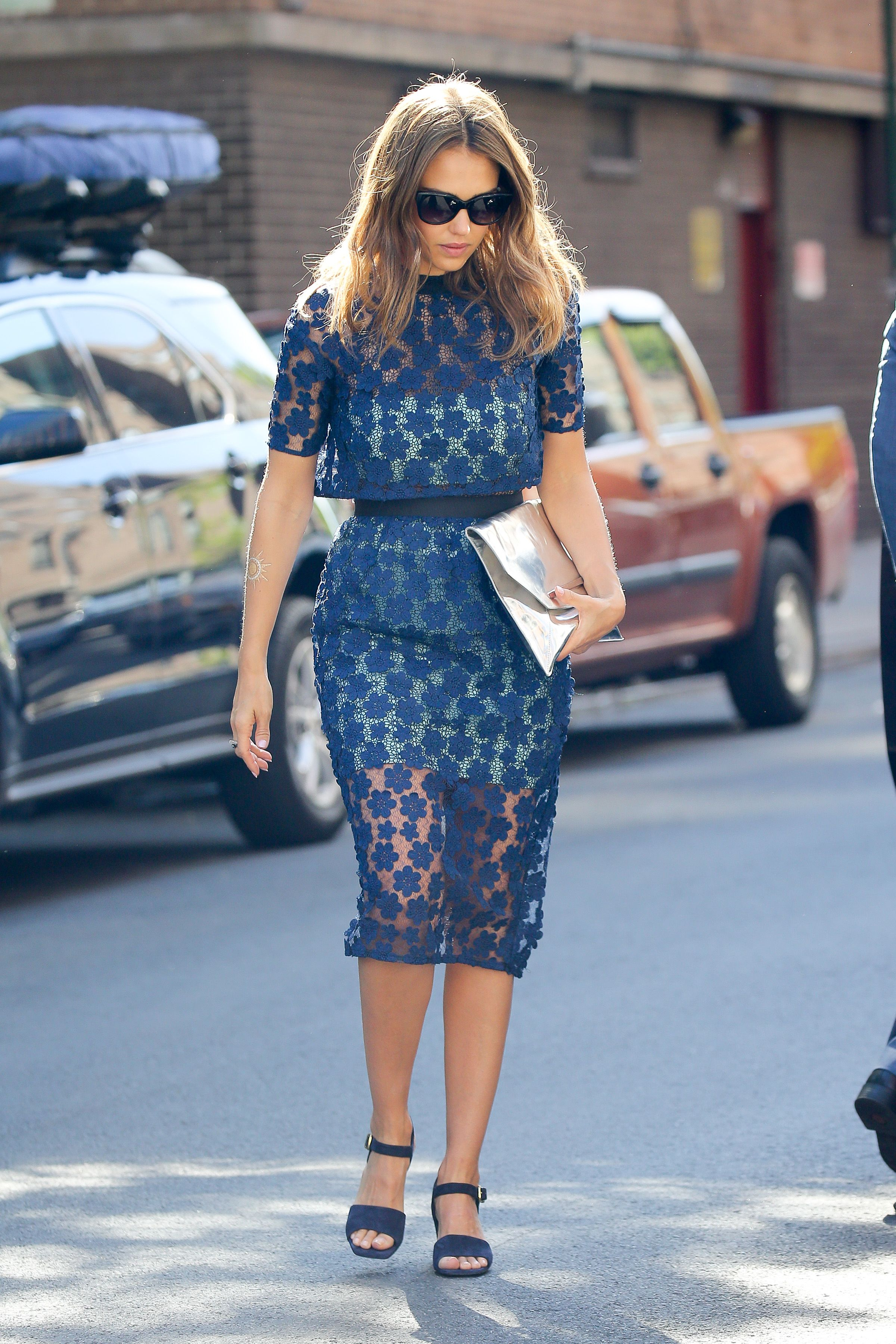 Jessica Alba out in NYC 6/15/16