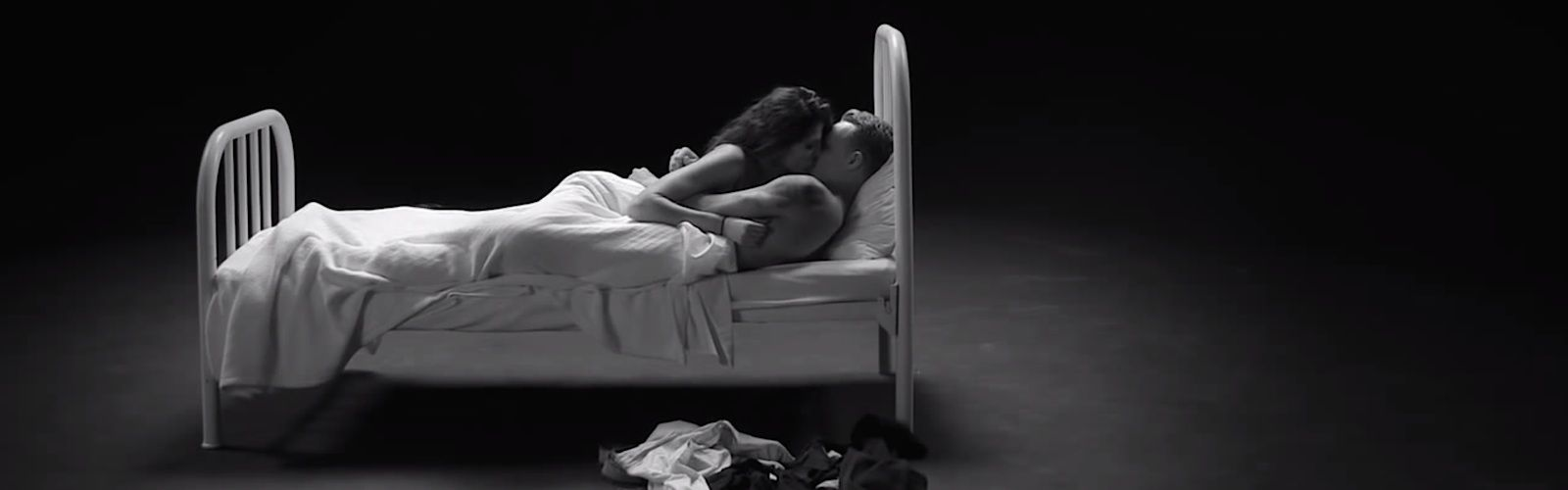 Strangers Jump Into Bed in Undress Me Video