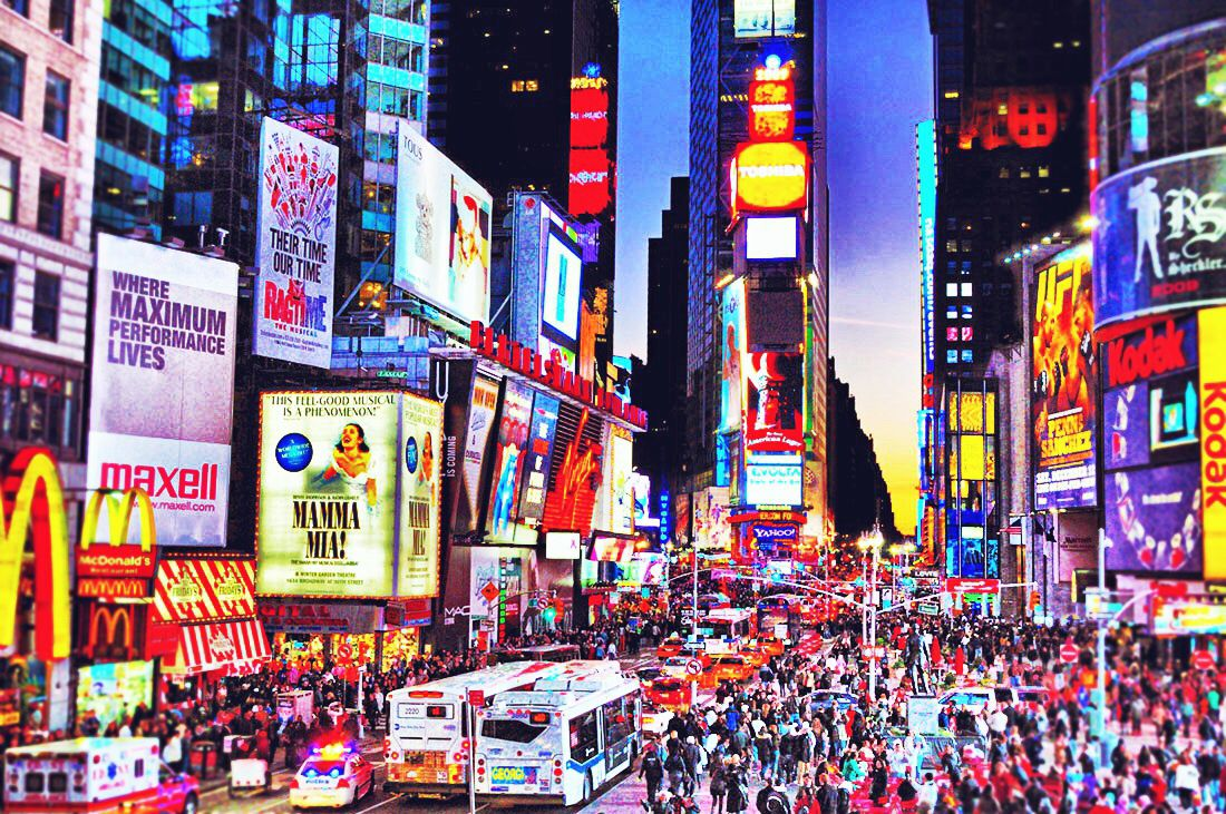 The city that never sleeps. #timesquare #NYC