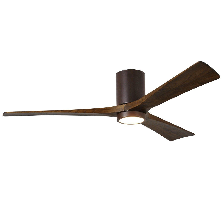 Irene Hugger 3 Blade Ceiling Fan with Light