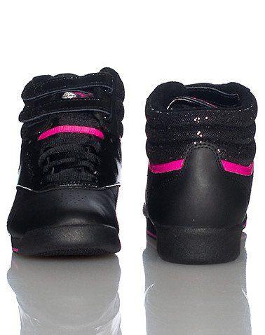 Amazon.com: Reebok Freestyle Hi Sequence Sneaker: Shoes