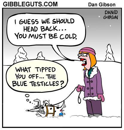 Dog In Snow Cartoon Cartoons From Gibbleguts Com Fun Quotes Funny Snow Humor Funny Kids Homework