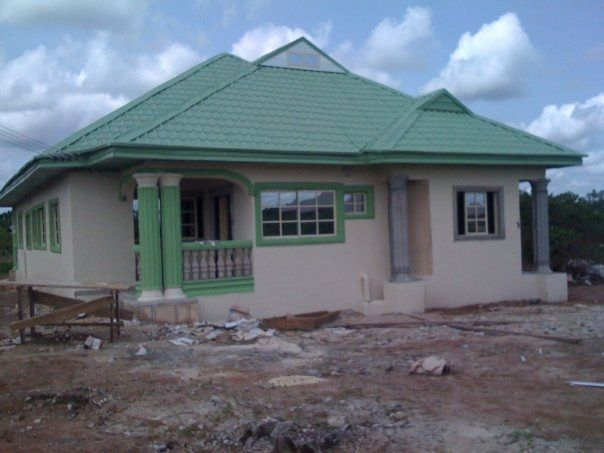 Bungalow Designs In Nigeria 4 Bedroom Bungalow House Design In Nigeria Bungalow Style House Bungalow House Plans Bungalow Pictures