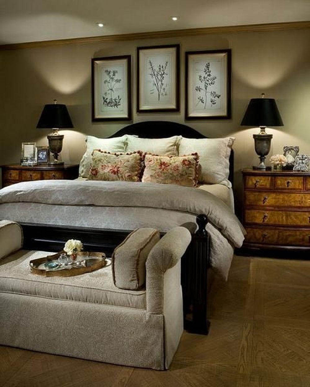 nice 53 Beautiful Master Bedroom Ideas for Winter | Cozy ...