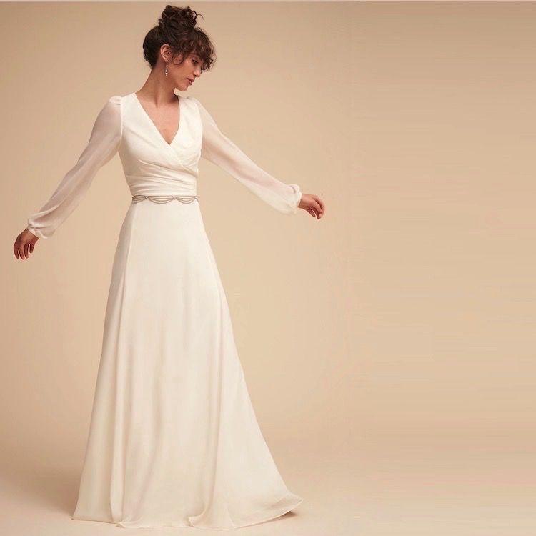 Long Sleeved Art Deco Gown Nova Different Wedding Dresses