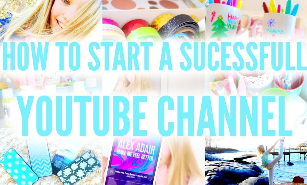 GTY: How to start a successful youtube channel! Howto thumbnail, editing...   Macerly09