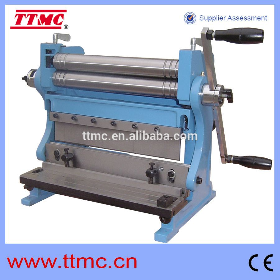 3 In 1 305 Combination Of Shear Brake And Roll Machine View Combination Press Brake And Shear Ttmc Product Details From Tengzhou Tri Union Machinery Co Ltd Sheet Metal Brake Sheet Metal Sheet Metal Shear