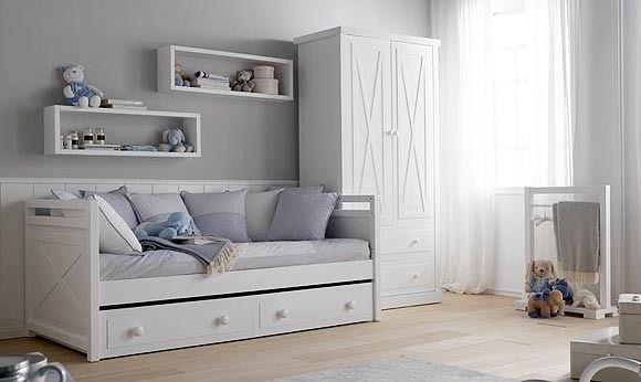 Dormitorios infantiles para dos habitaciones - Camas nidos infantiles ...