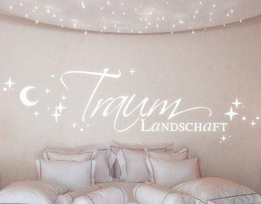 Wandtattoo Sprüche - Wandworte NoEV35 #Traumlandschaft - wandtattoos schlafzimmer sprüche