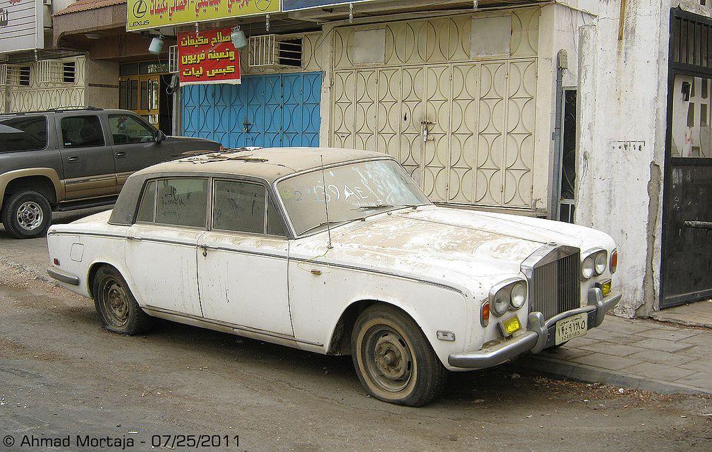 Abandoned Rolls-Royce Silver Shadow   Rolls Royce ...