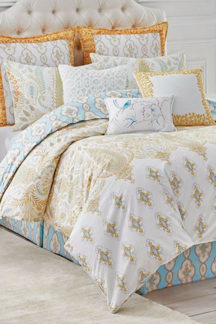 Dena Home King Dream 3 Piece Comforter Set A Calming Look For The