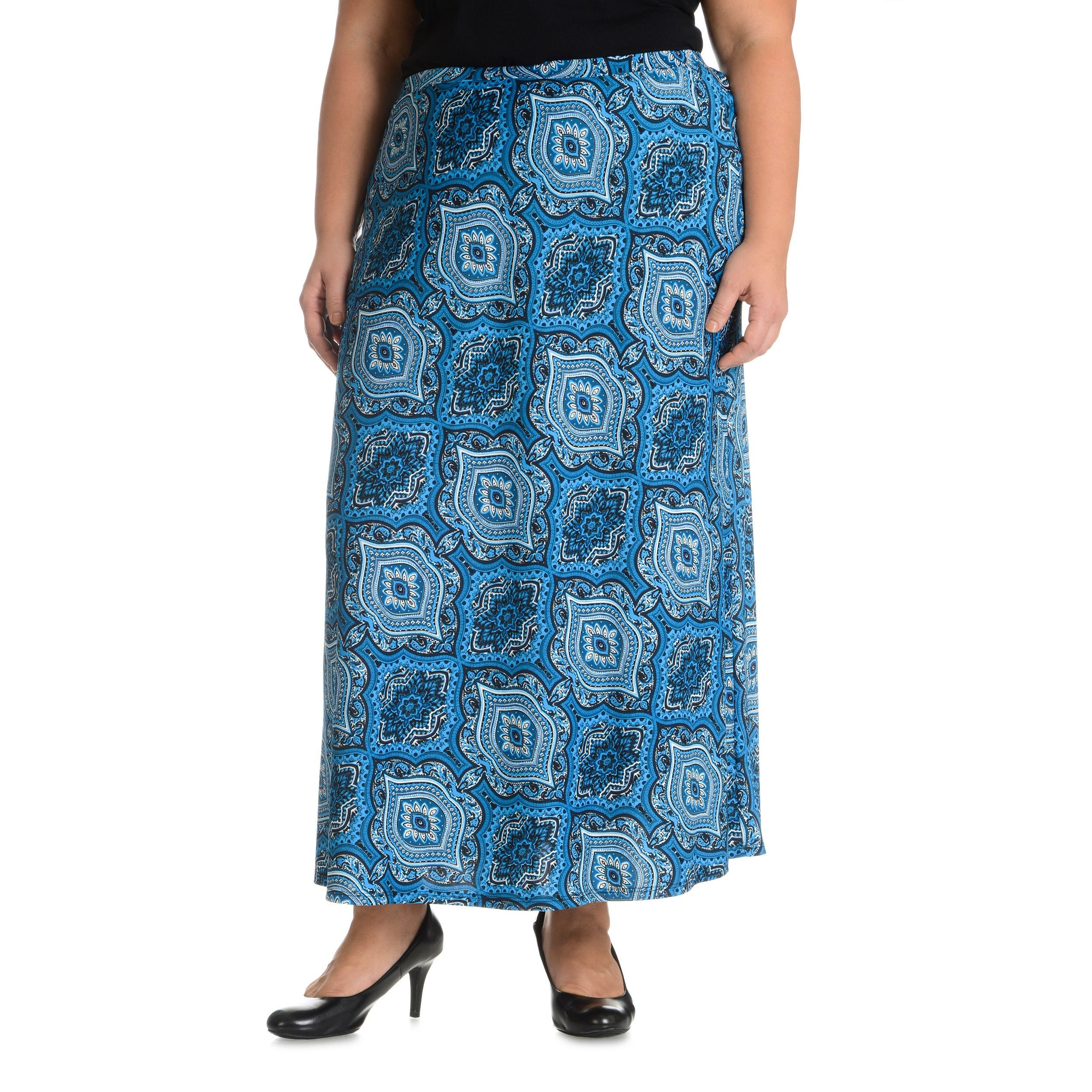 Cyrus Sunny Leigh Women's Plus Size Moroccan Skirt