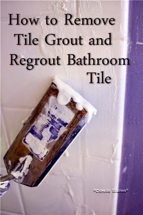 How to remove grout and regrout tile master bathroom shower grout and master bathrooms How to regrout bathroom tiles