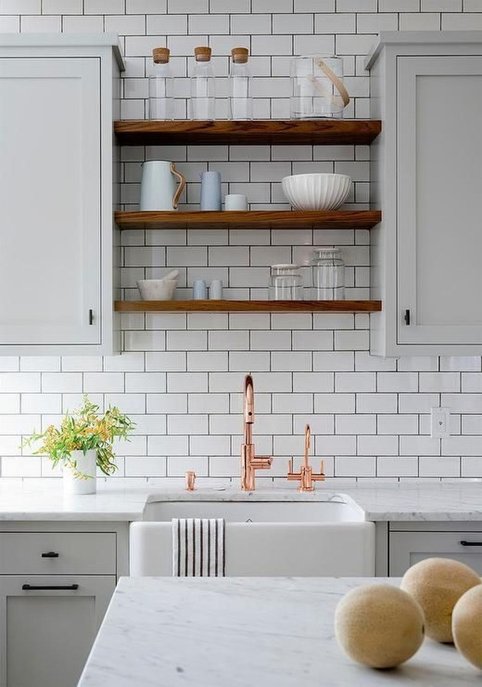 70 Majestic Copper And Rose Gold Kitchen Themes Decorations Gray
