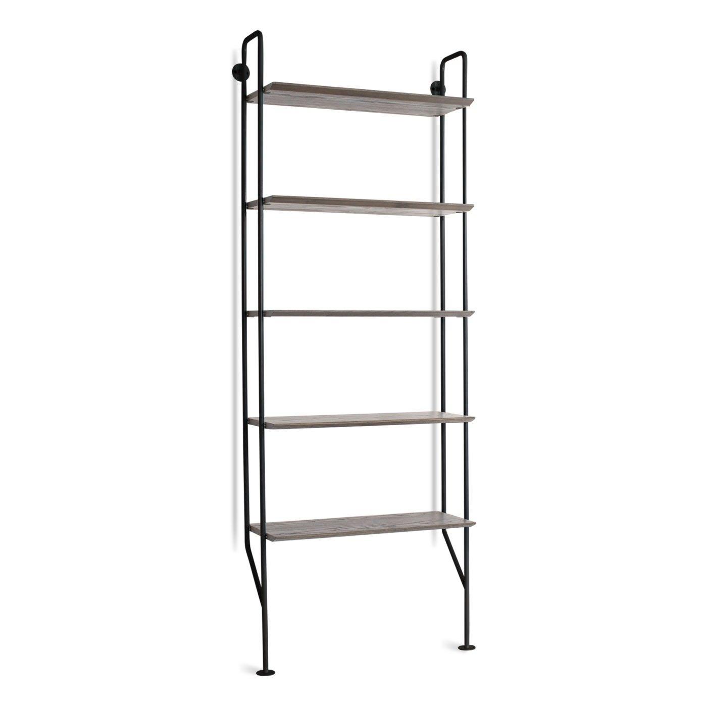 Hitch bookcase black smoke tim bedroom pinterest ladder