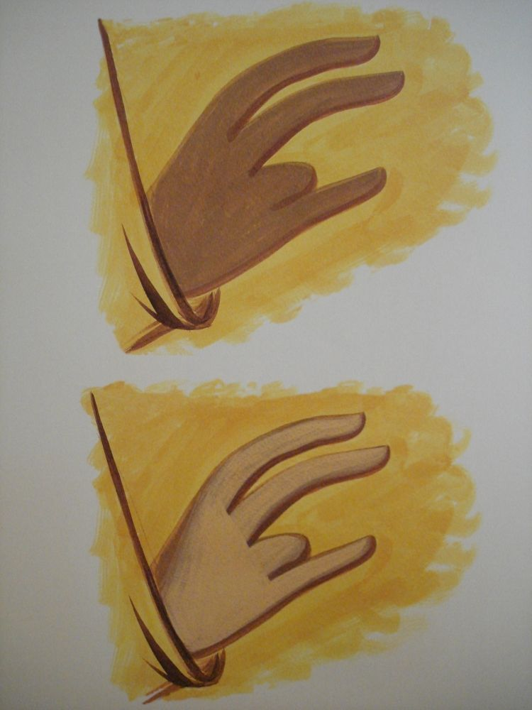 Hands. Stages 1 & 2.