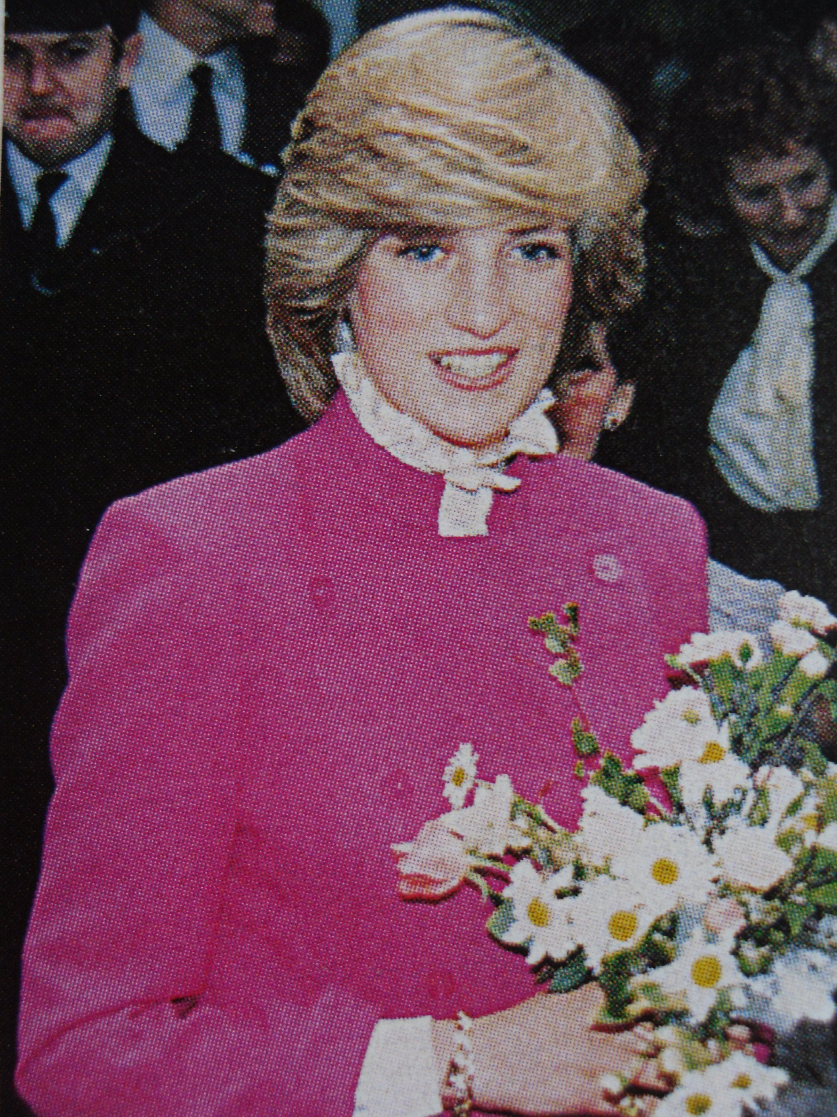 Princess Diana-Looks Good In Any Color.