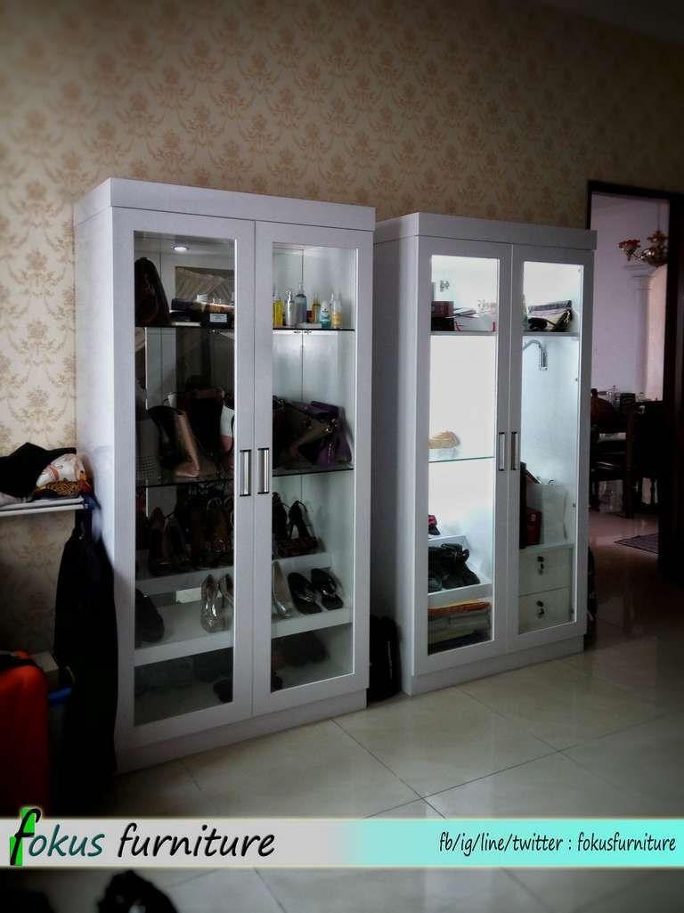 Lemari 2 Pintu Rak Sepatu Dan Tas Lemari Ide Dekorasi Rumah Rak
