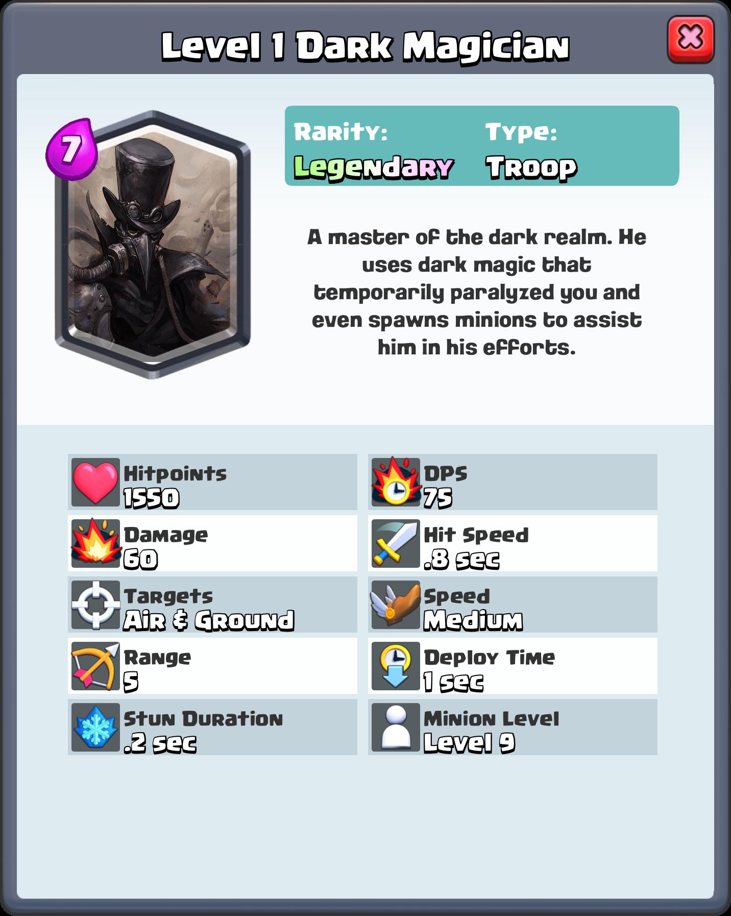 Clash Royale Card Idea Clash Royale Cards Clash Royale The Magicians