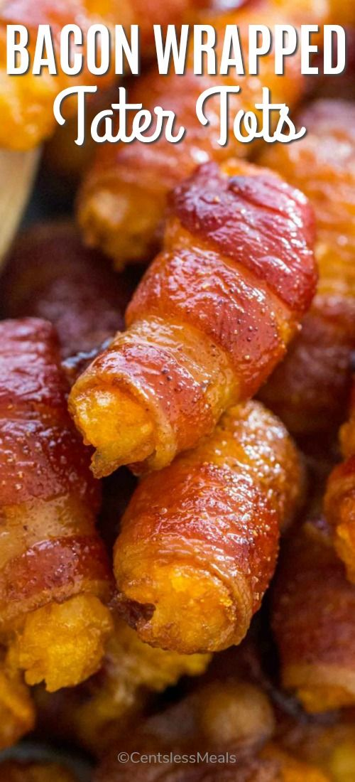 Bacon Wrapped Tater Tots - CentsLess Meals