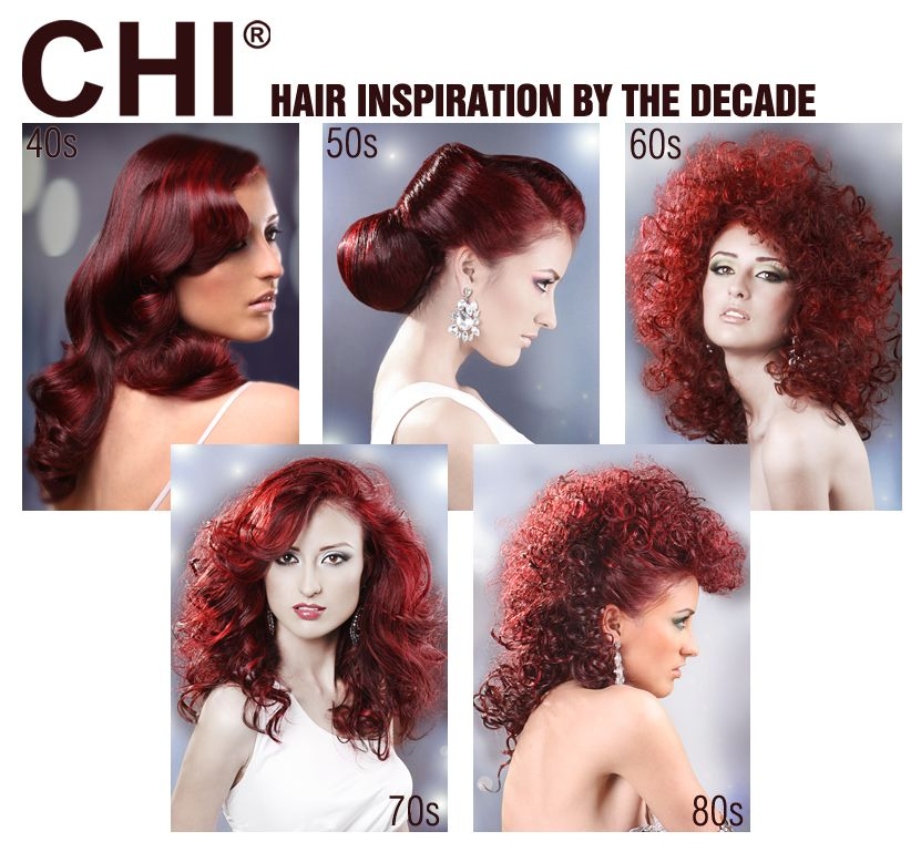 Hair Ideas By The Decade Inspired By The 40s 50s 60s 70s 80s Retro Hairstyles Hair Styles Favorite Hairstyles Hair Beauty