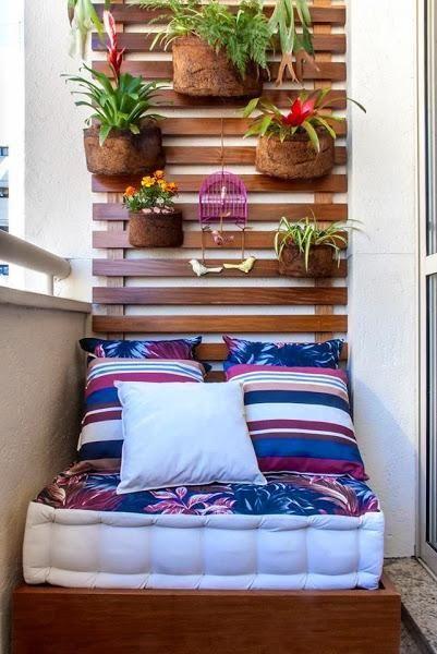 Terrazas Pequeñas Y Urbanas Casa Décoration Balcon