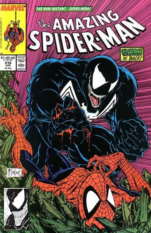 Comic Book Cover Art ~ The amazing spider man comic book cover