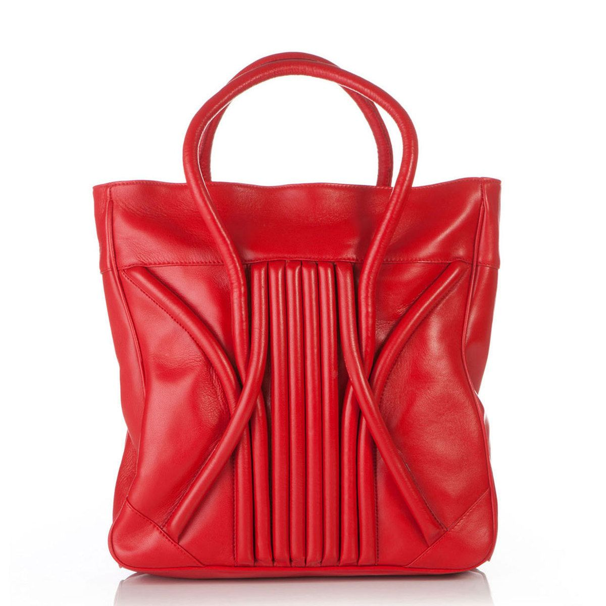 Swirl Tote Red