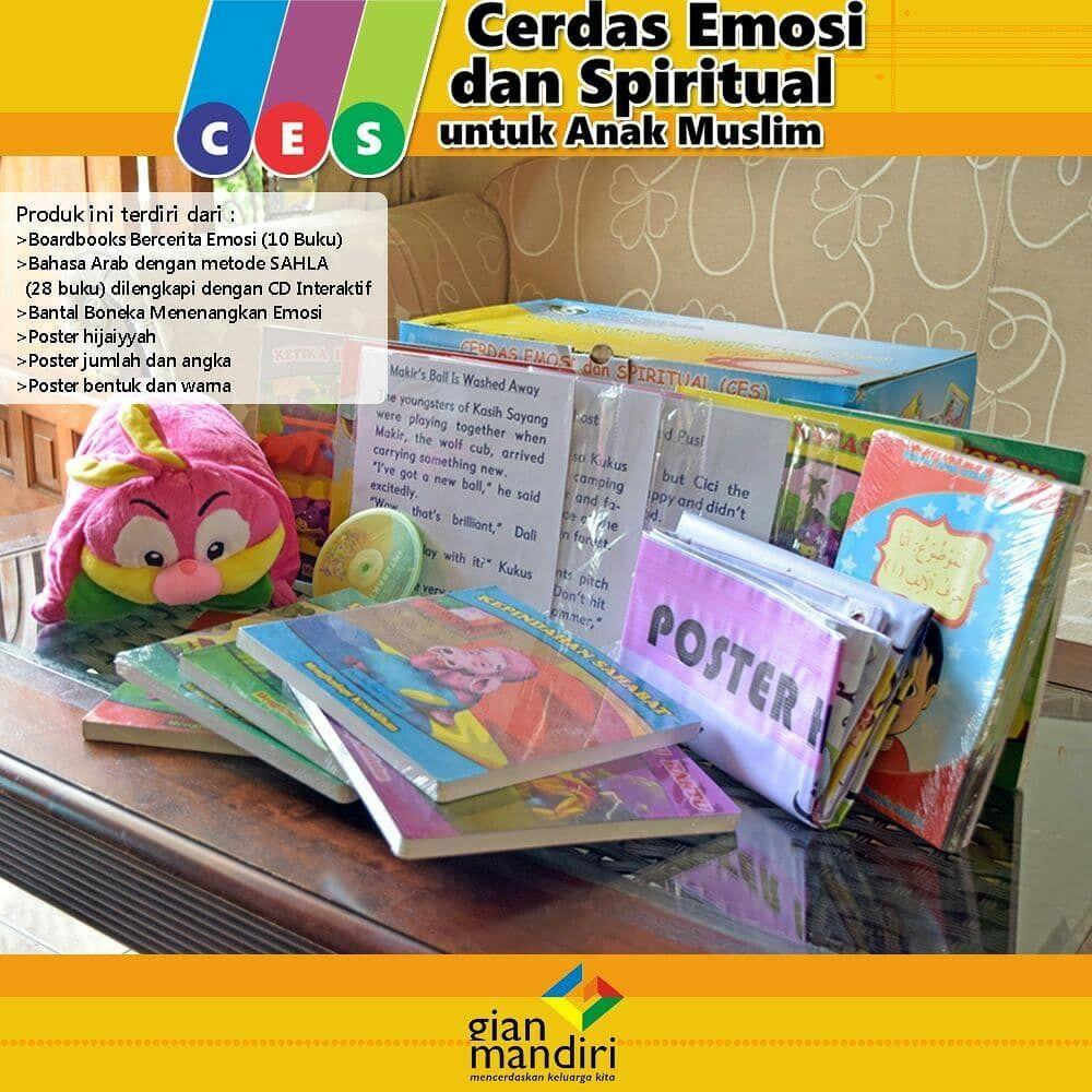 Dalam Paket Cerdas Emosi Dan Spiritual Untuk Anak Muslim Ces Boneka Terdapat 10 Jilid Boardbook