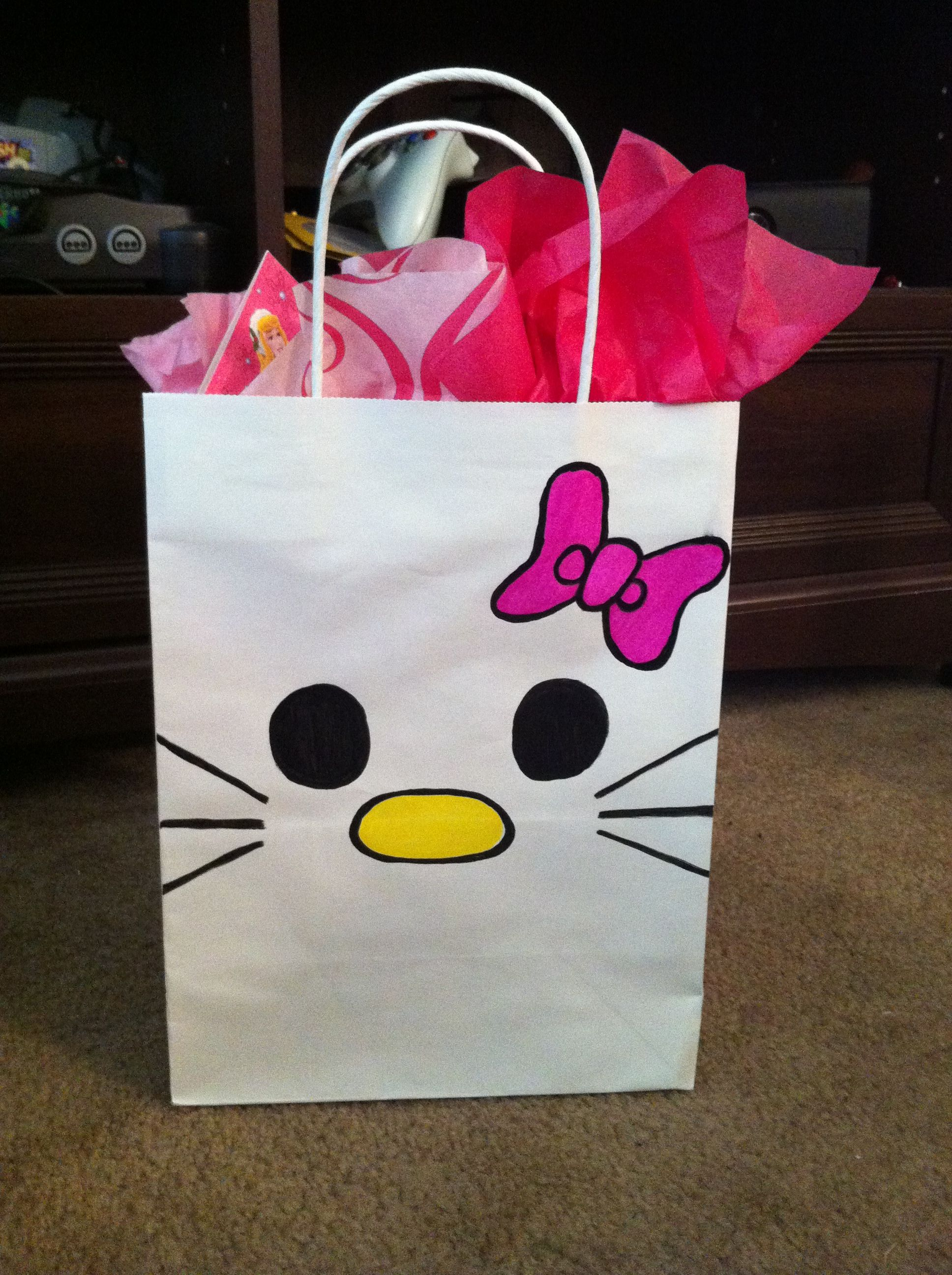 Homemade Hello Kitty T Bag Hellokitty Christmas