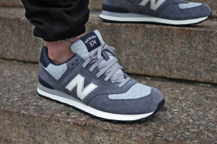 New Balance 574 Pennant Grey Navy
