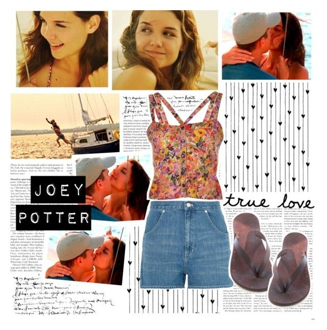 Joey Potter - Outfit Inspiration - Season 4 by vilena-ferreira on Polyvore featuring moda, Madewell, Camp and Oris