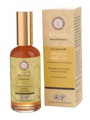 Khadi Olejek Stymulujacy Wzrost Wlosow Hair Oil Natural Cosmetics Herbalism