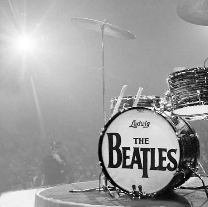 La famosa batería Ludwing de Ringo Starr.