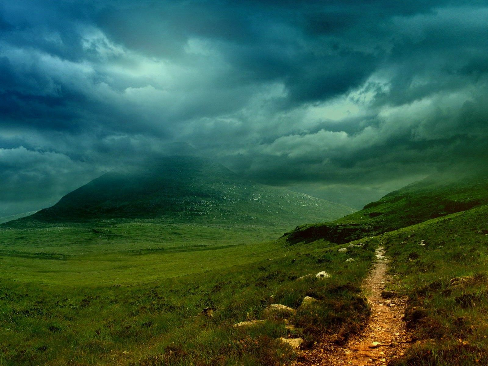 Incredible shot of the Irish countryside - Imgur