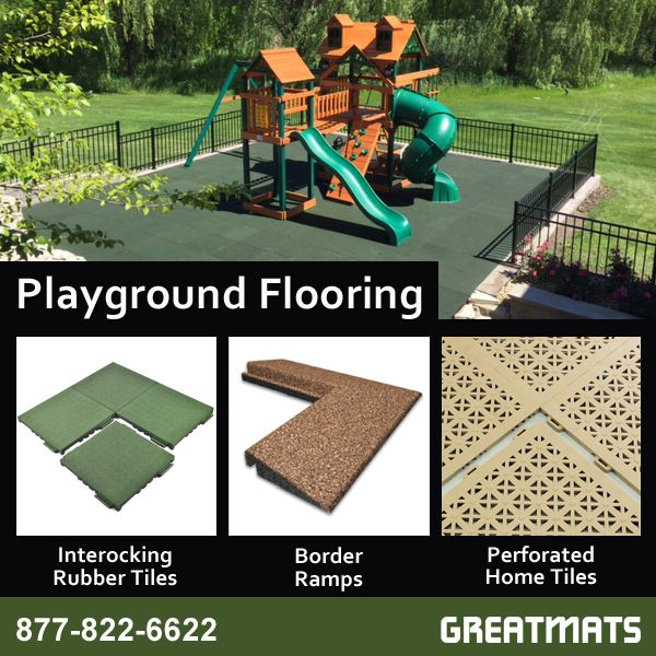 Pin By Greatmats On Outdoor Kids Playground Safety Surfacing
