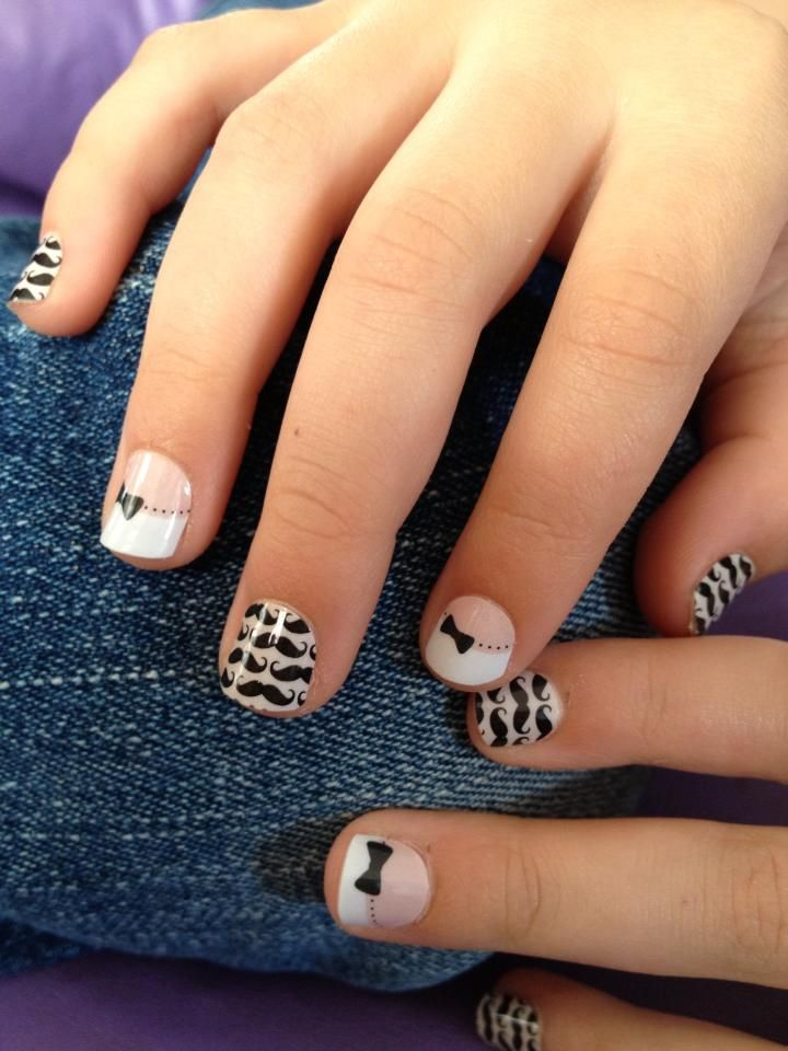 Jamberry Juniors - French Tip Bows & Little MoMo http://katykirsch ...