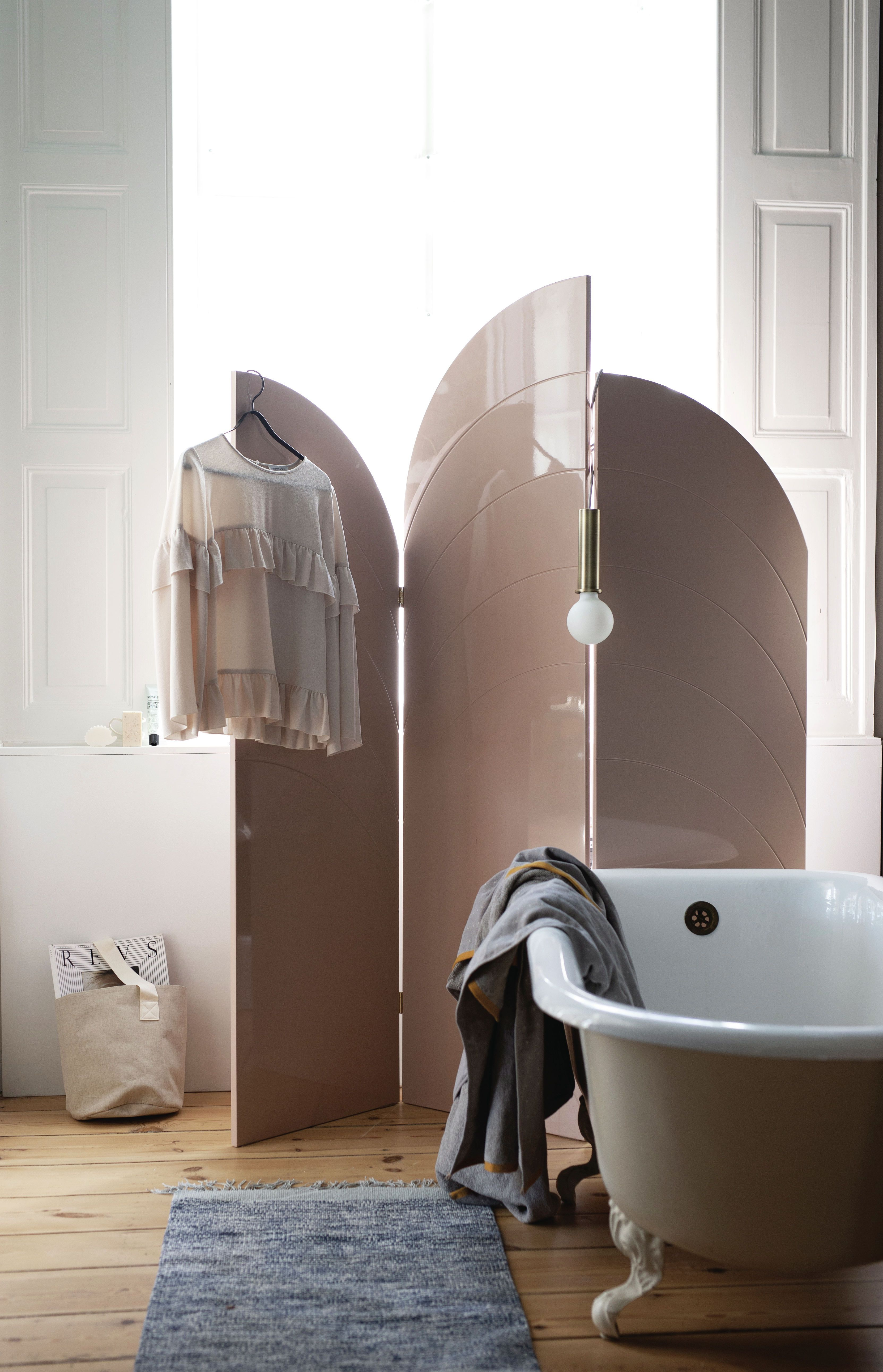 Ferm Living Unfold Room Divider Living Showroom Interior Design