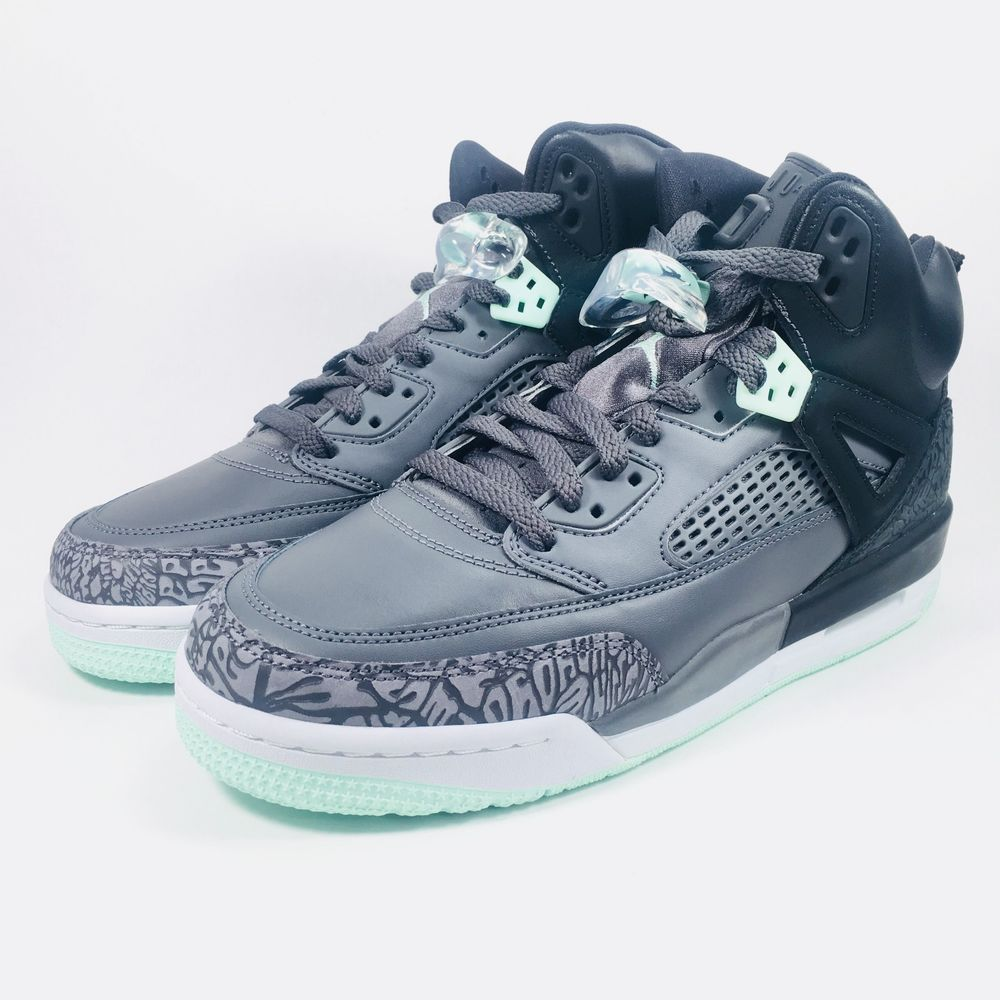 dd306a9bb2b8dd eBay  Sponsored Air Jordan Spizike GG Black Mint Foam Dark Grey 535712-015  Youth Size 8Y