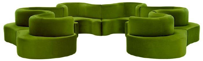 1969 Clover Leaf Modular Sofa By Verner Panton