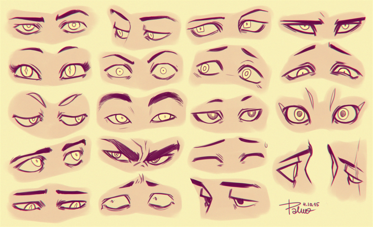 Even More Cartoon Eyes Eye Drawing Eye Expressions Realistic Eye Drawing