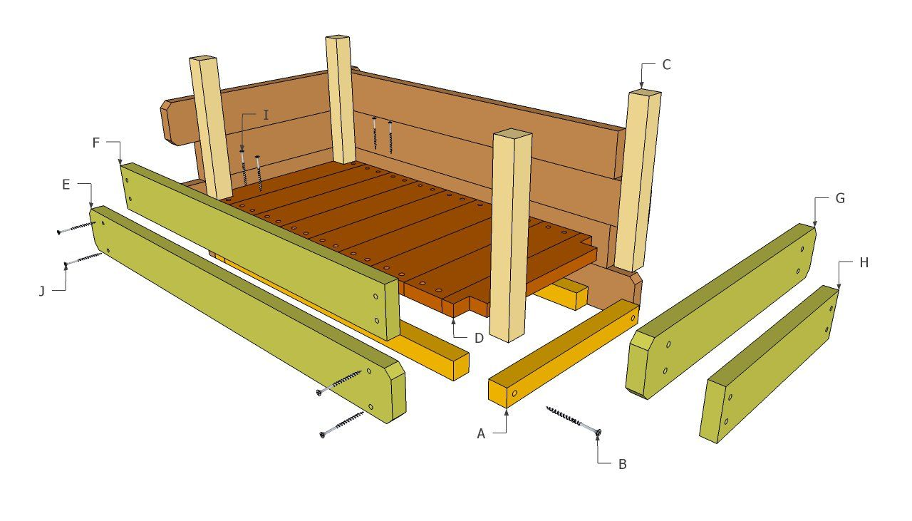Wood flower box plans landscaping pinterest flower for Building blueprint maker