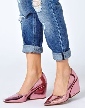 Mirror Heeled Shoes