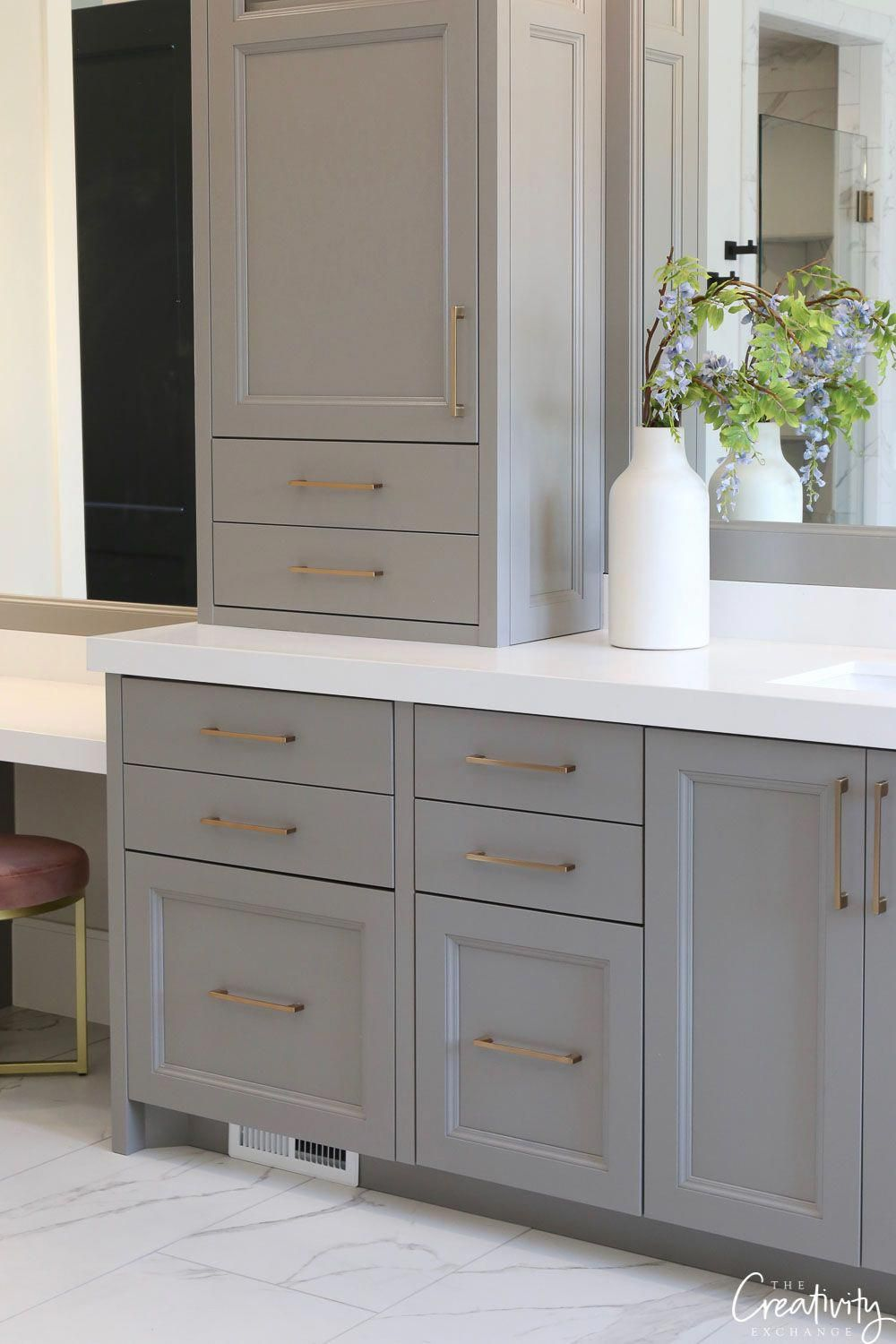 Read More About Decorating Your Bathroom Counter Tops Simply Click Here For More Ba Bathroom Cabinet Colors Painted Vanity Bathroom Painting Bathroom Cabinets