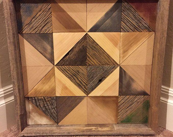 Geometric Wood Wall Decor Triangular Wood Decor Wall Decor Reclaimed Wood Decor Geometric Decor Wood Reclaimed Wood Wall Art Wood Art Reclaimed Wood Decor