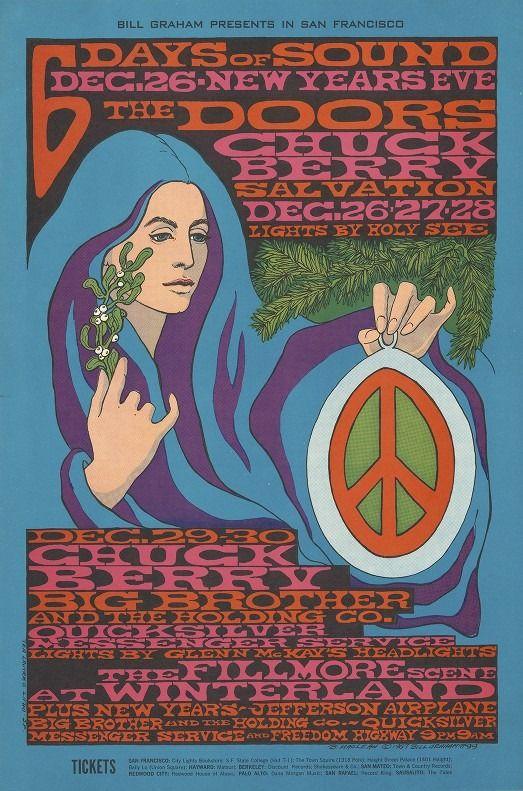 6 Days of Sound poster, December. 26-28, 1967