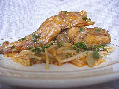 Rabbit and Noodles Casserole