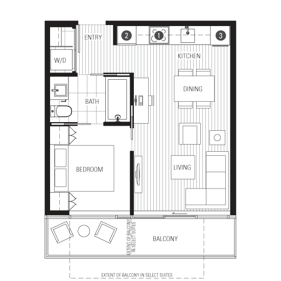 Small Apartment Plans, Studio Apartment Plan