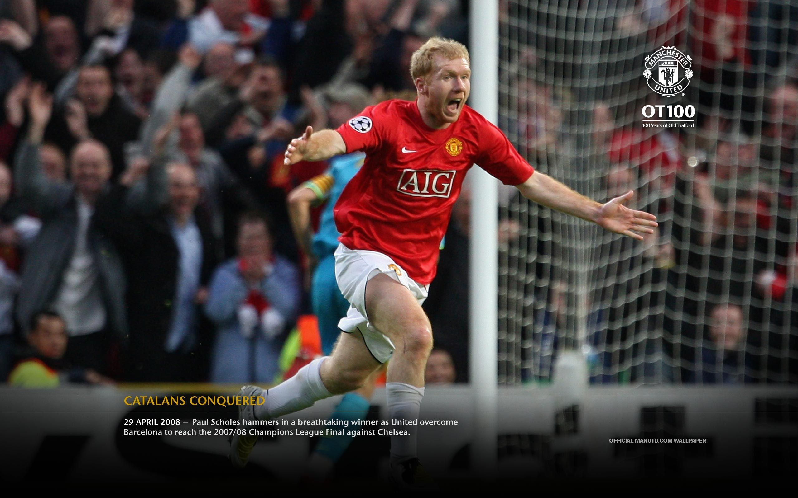 Scholes Legend With Images Manchester United Soccer News Official Manchester United Website