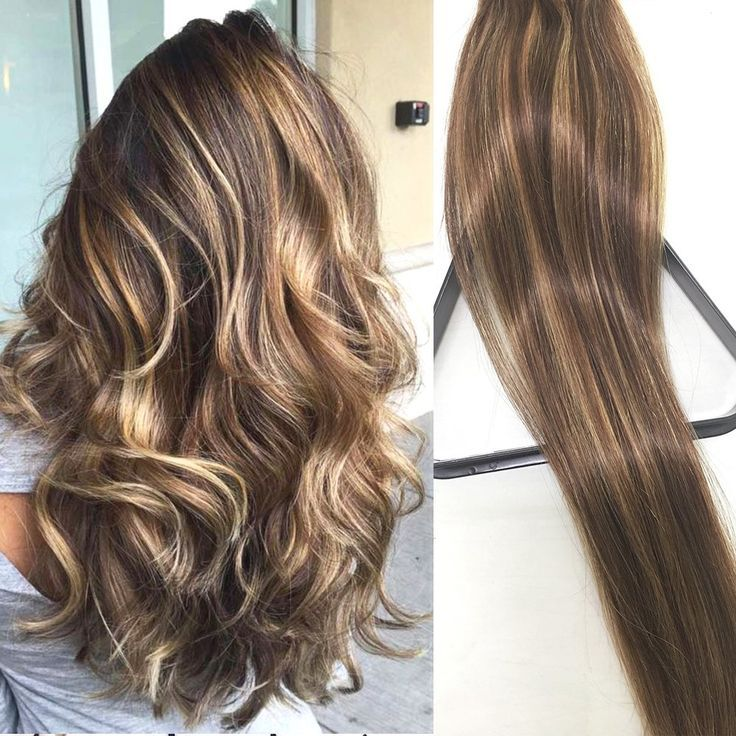 Clip in Hair Extensions Human Hair Extensions Clip on for